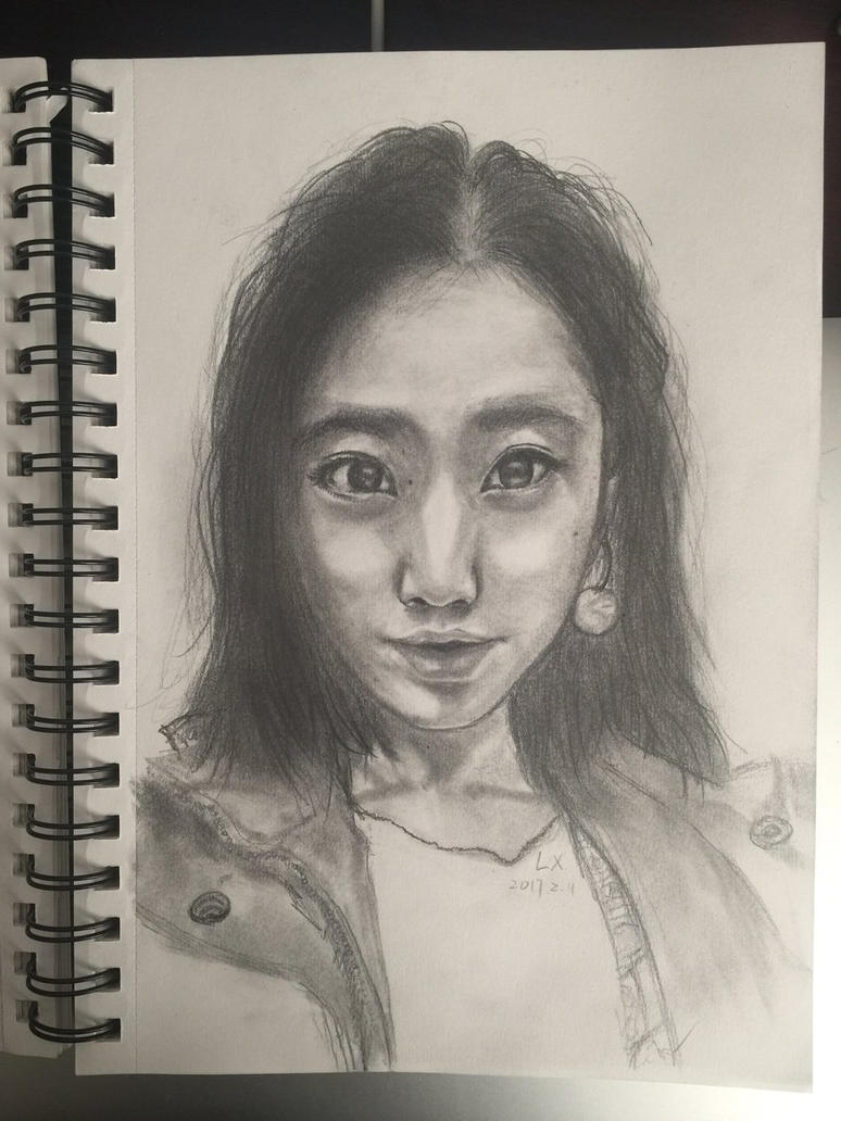Chinese girl by MarsX0419