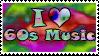 Sixties Music stamp by opheliareturns