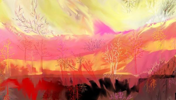 Jupiter Trees by msklystron
