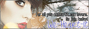 WE-HEART-IT BANNER by cigdesigns