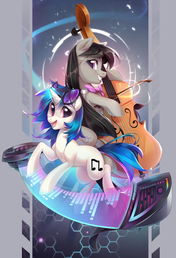 Mutual music by Makaronder