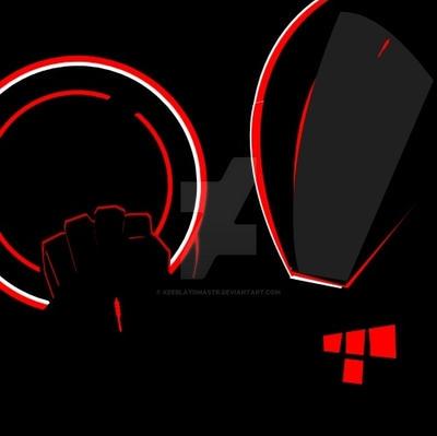 3rd Emblem Rinzler From TRON Legacy By KeeBlaydMastr