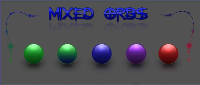 mixed orbs