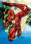 The Flash, digital colour.