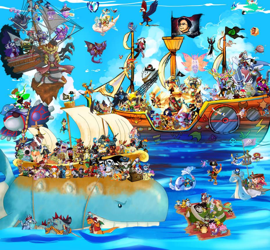 180 Piratemon Charity Cruise