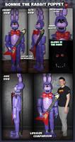 Bonnie the Bunny Rabbit Puppet (refurbished)