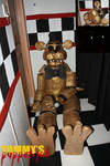 Golden Freddy Puppet