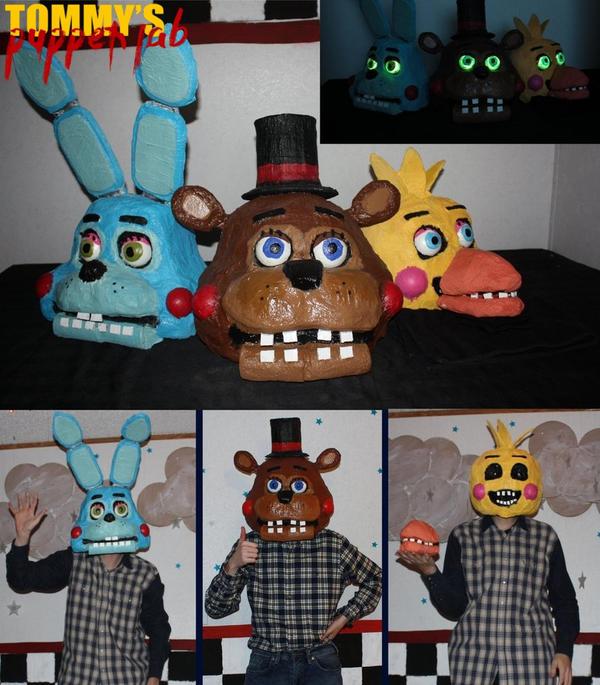 Toy FNAF Head Masks