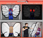 Butterfree Puppet (tutorial available)