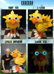 Chocobo Puppet (refurbished) by TommyGK