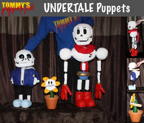 UNDERTALE Puppets (tutorials available) by TommyGK