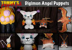 Digimon Angel Puppets (tutorials available)