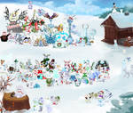 Pokemon Snowmon for Charity 138
