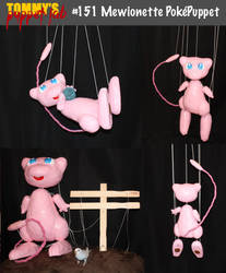 Mew Marionette Puppet (tutorial available) by TommyGK