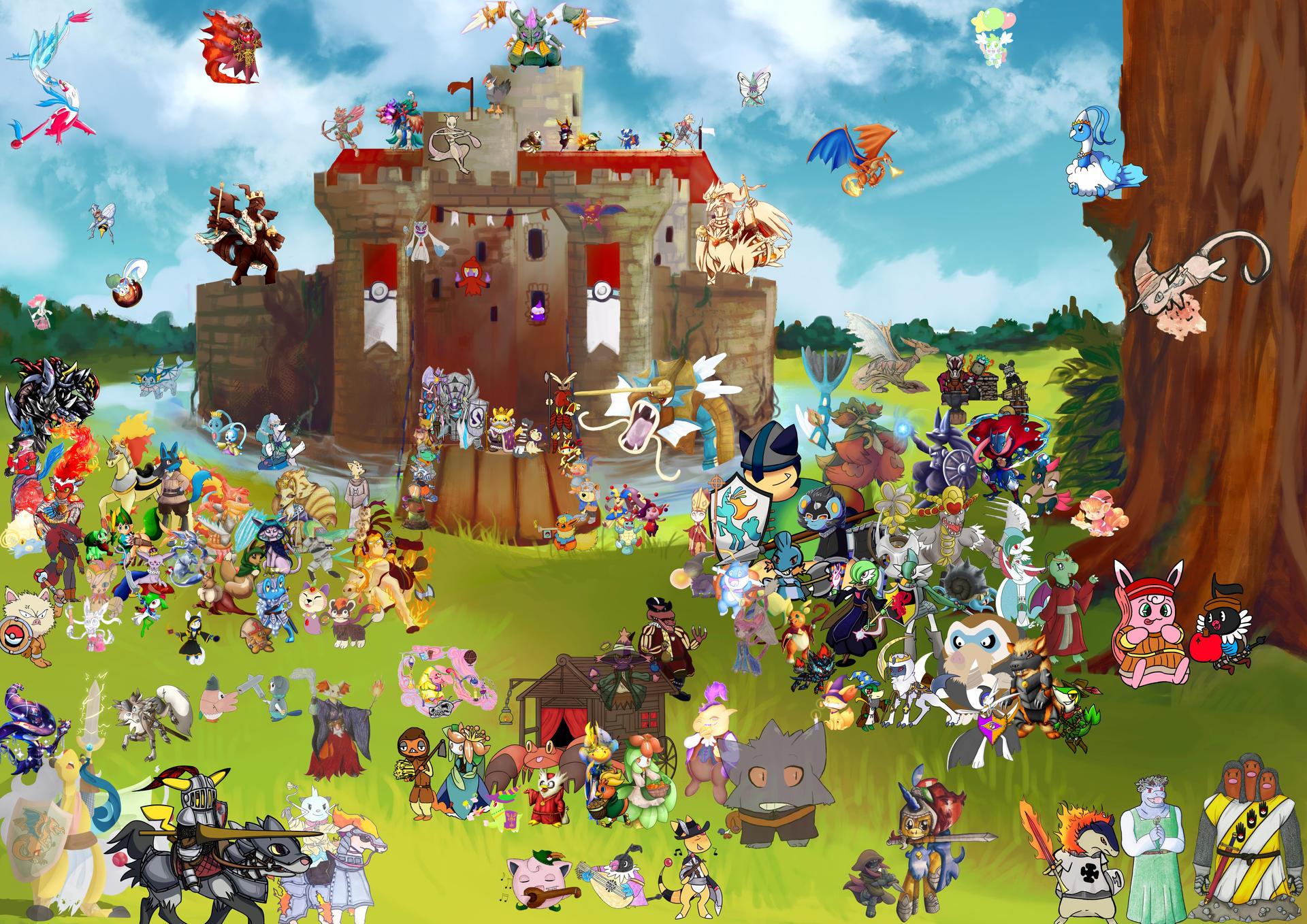 Pokemon Medieval Charity Fair