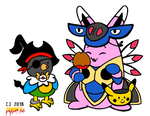 Guildmaster and Chatot