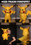 Pikachu Puppet (tutorial available)