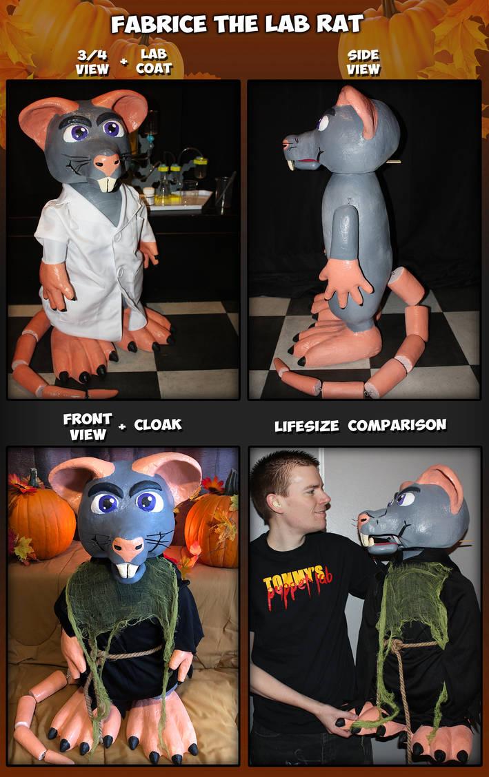 Fabrice the Rat Puppet (Original Character)