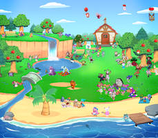 (OPEN) Animalmon Crossing Charity Village 73 by TommyGK