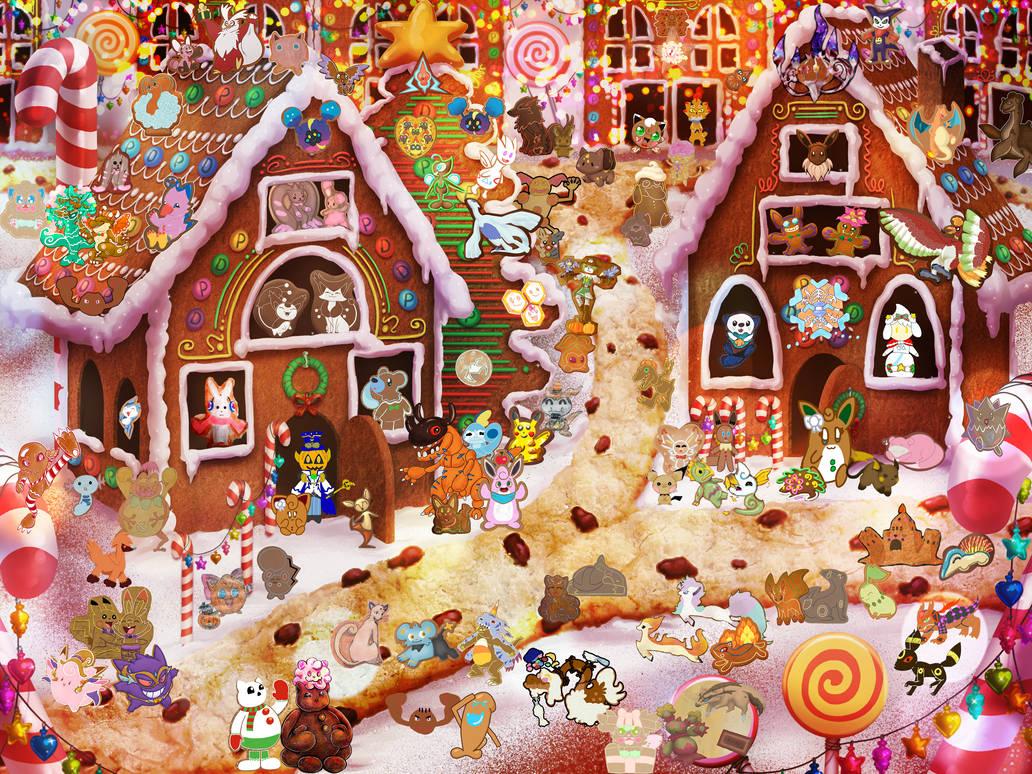 109 Gingerbreadmon Charity Festival *OPEN*
