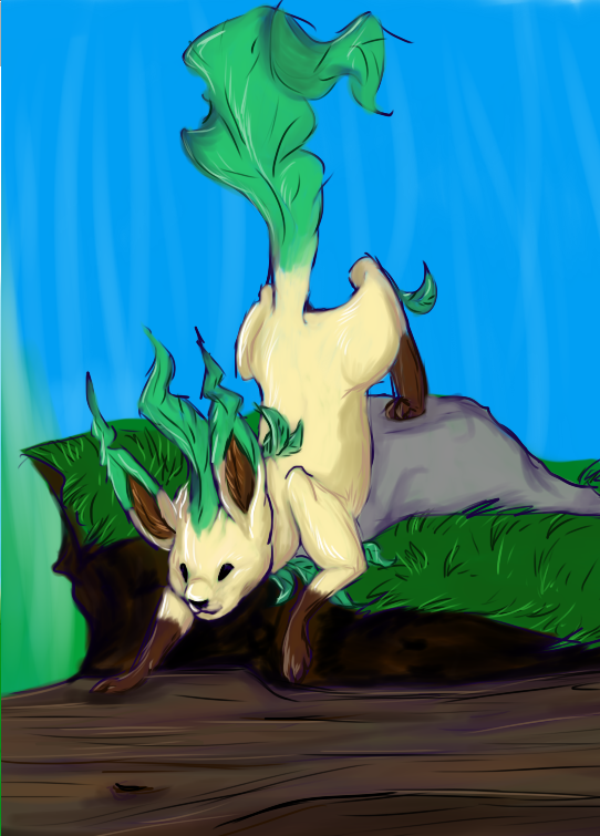 Leafeon by Khalico