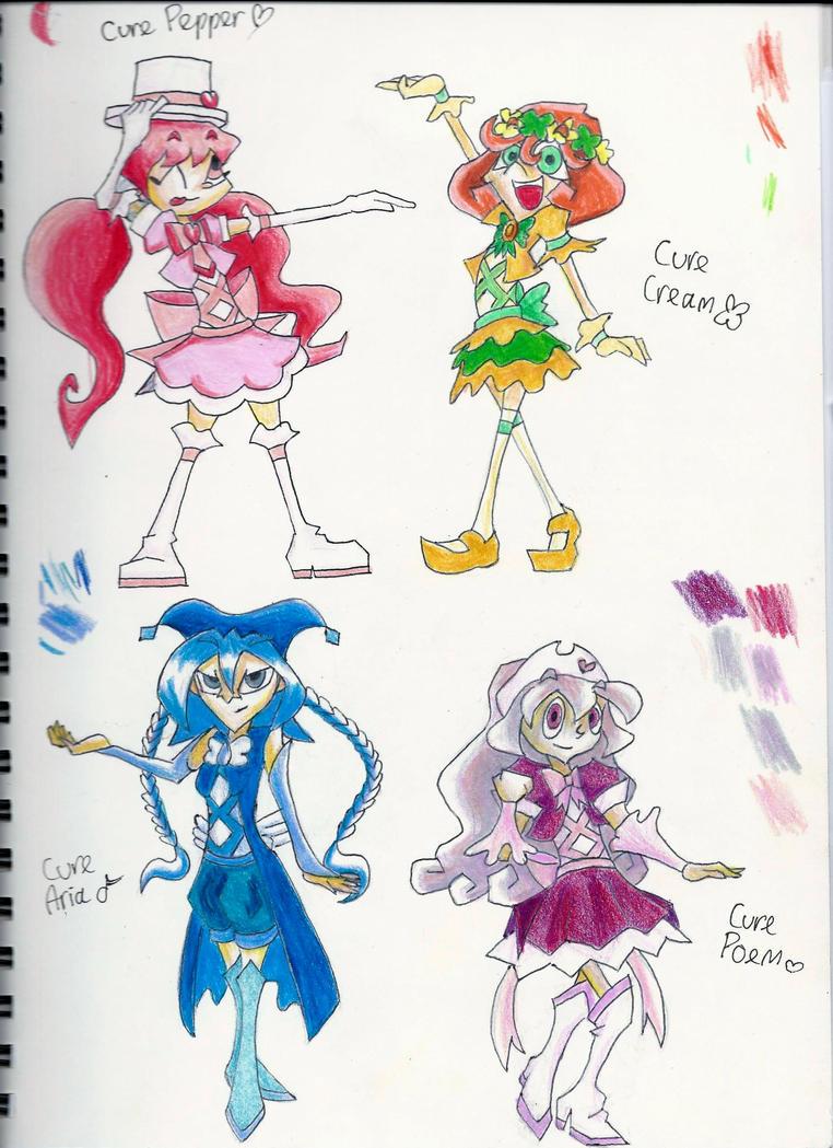 Fable Blast Pretty Cure by Jen-the-Cat-desu