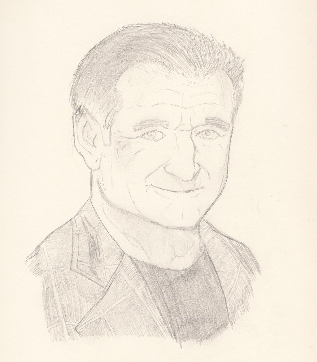 Robin Williams by Cujo-Escariot
