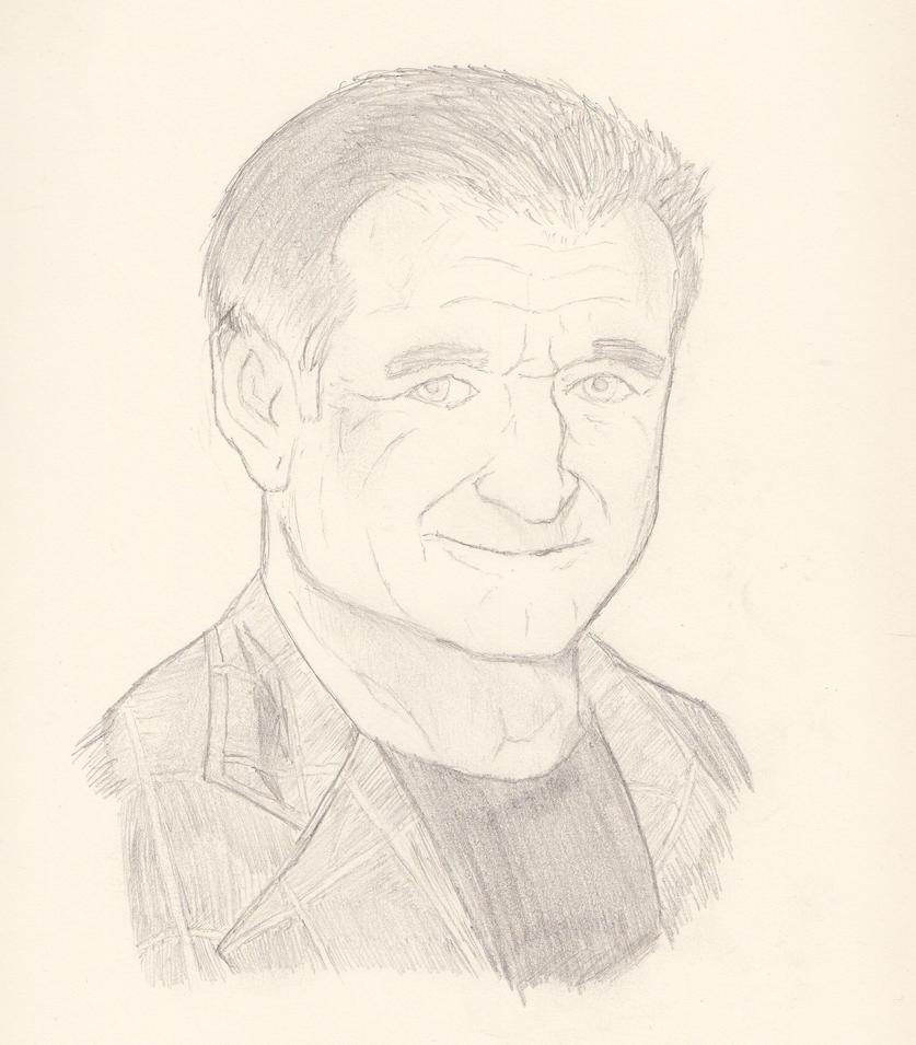 Robin Williams by Cujo-Escariot