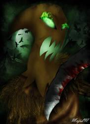 Fear the darkness by MujiLN