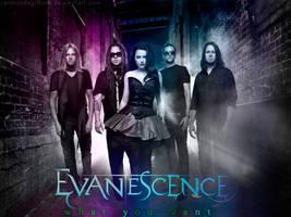 Evanescence What You Want by raimundogiffuni