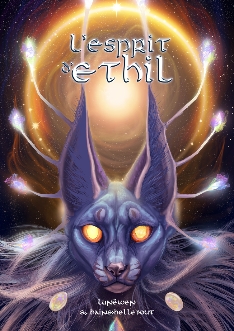 L'esprit d'Ethil WIP Cover by Lunewen