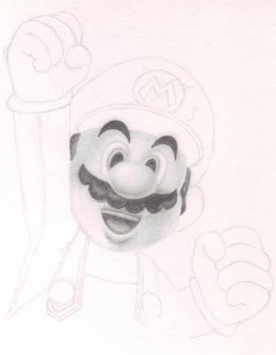 Super Mario WIP by Amzypop