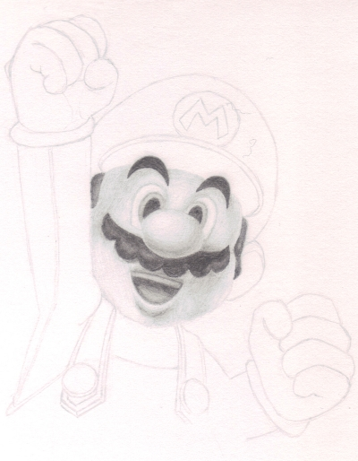 Super Mario WIP by Amzypop