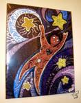 Dream Reaching in Acrylic by purplerubyred