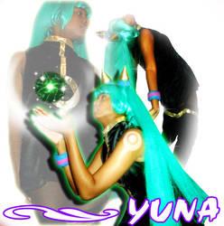 Ruby As Yuna by purplerubyred