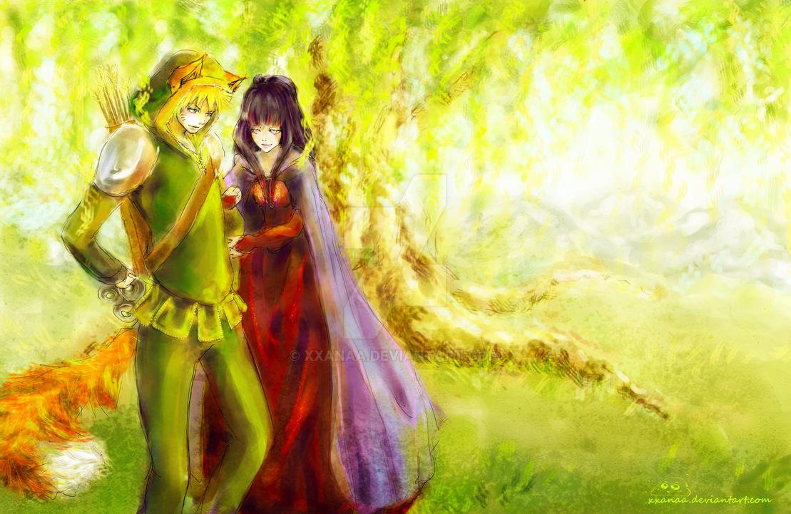 Naruto-Robin Hood by XxanaA