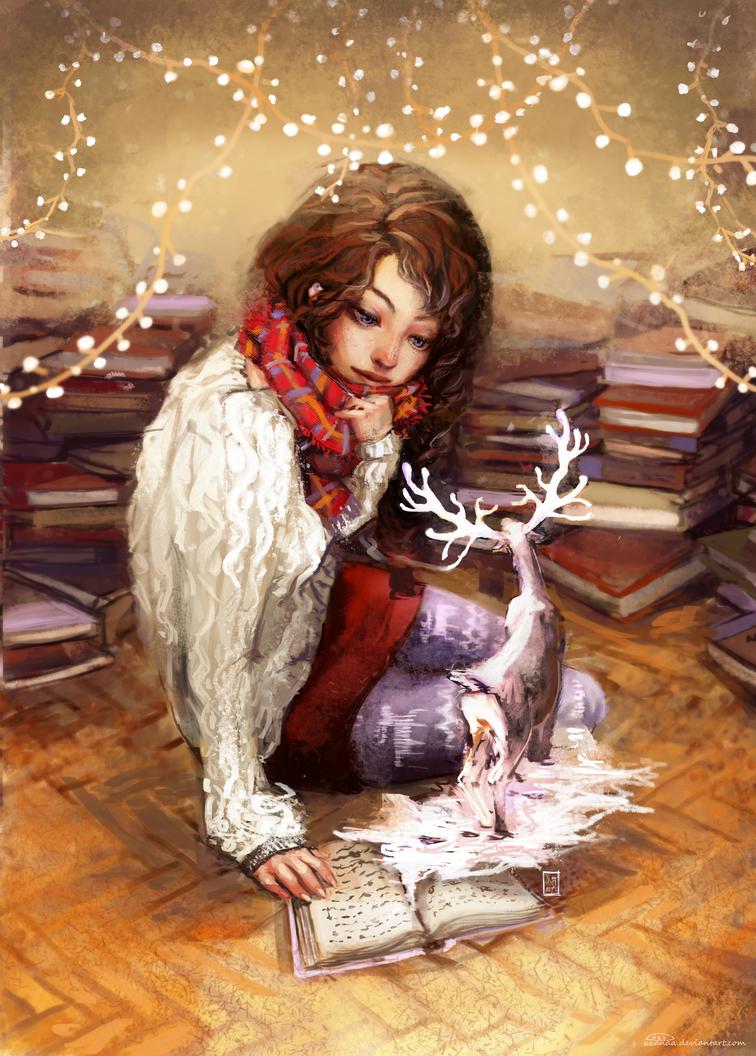 Reindeer by XxanaA