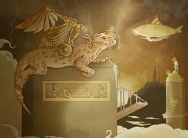 Steamy Dragon by Caravaggia