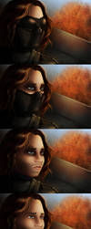 Winter Soldier studies by Caravaggia