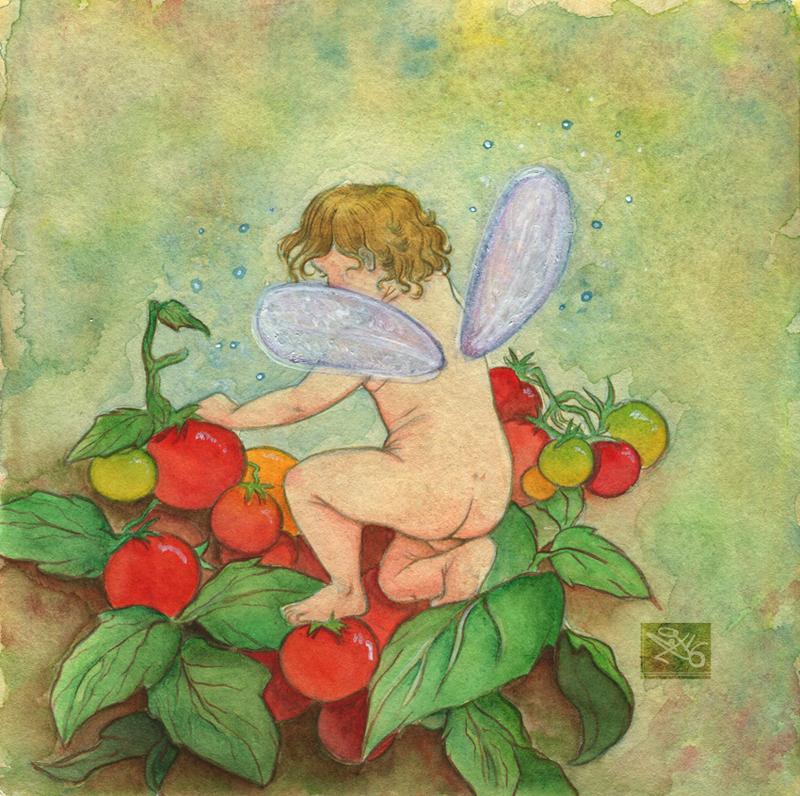 Tomato Fairy by Caravaggia