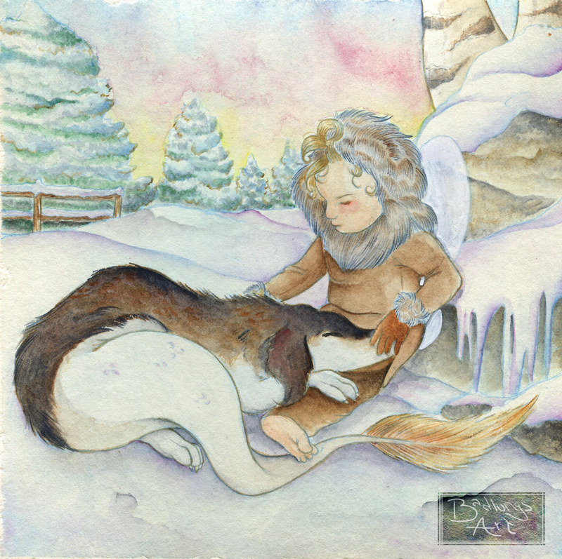 Winter Fairy by Caravaggia