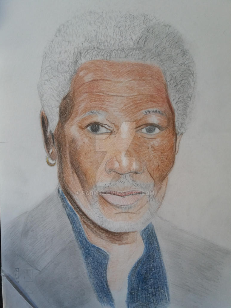 Morgan Freeman by robi83