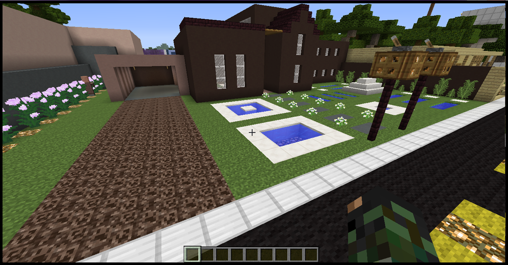 minecraft house designs clay modern style house no mods just minecraft by