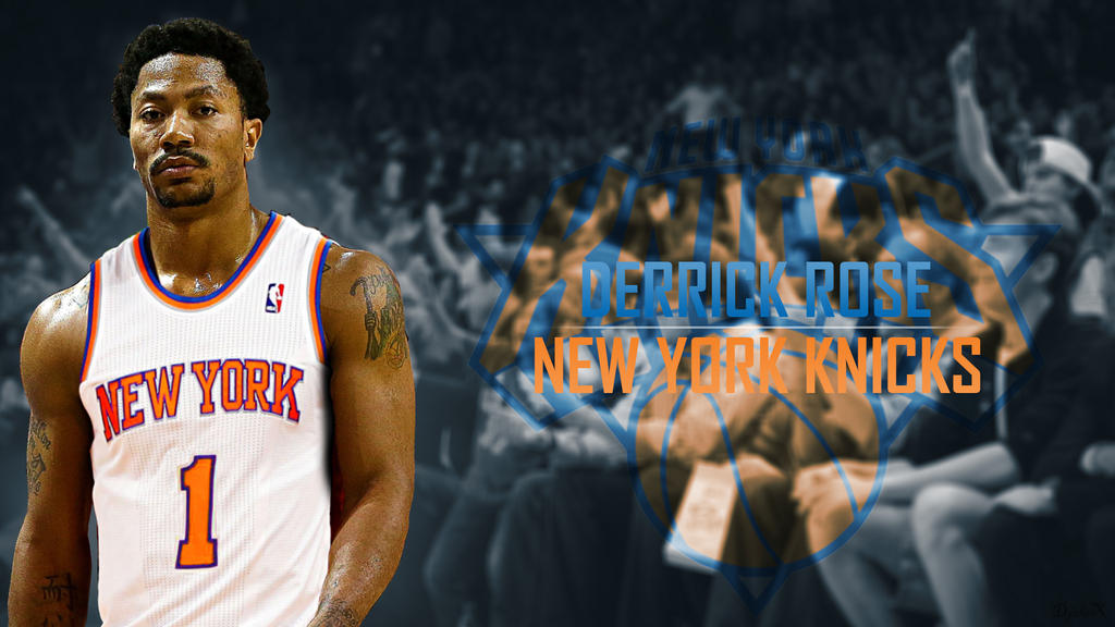 Derrick Rose Welcome To New York Knicks By DjoleXSRB On DeviantArt