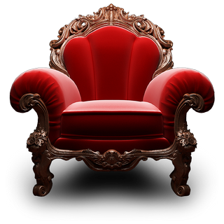 red chair by megaiooo
