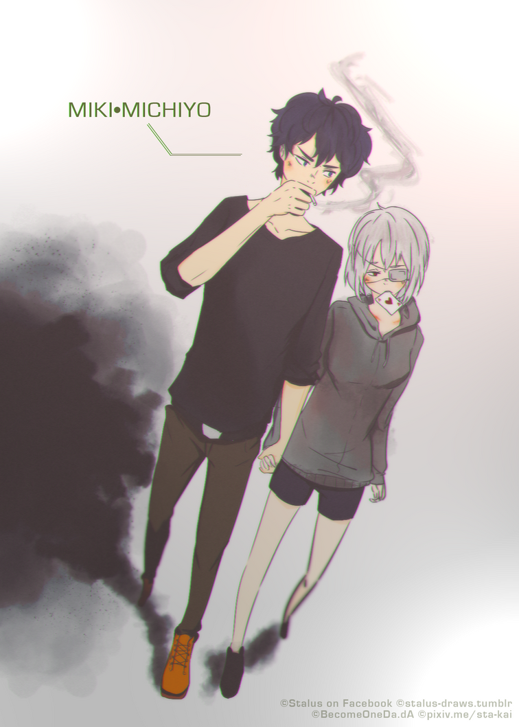 fabiolamustang/OC :: Miki/Michiyo by BecomeOneDa