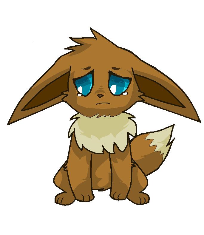 Pokemon Eevee Sad Images Pokemon Images