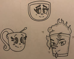 Cup Characters
