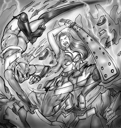 Anabel vs Goji Rider