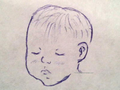 Baby Sketch by harvestpupp